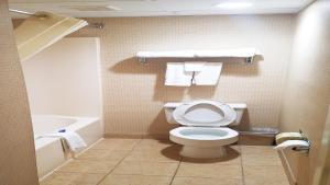 A bathroom at Best Western Hazlet Inn