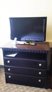 A television and/or entertainment center at Best Western Hazlet Inn