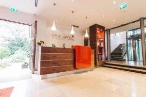 The lobby or reception area at Ringhotel KOCKS am Mühlenberg