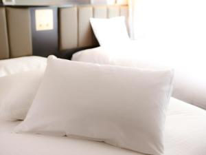 APA Hotel Kyoto Ekikita Non-smoking房間的床