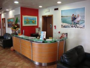Vstupní hala nebo recepce v ubytování Hotel Venezia