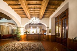 Hall o reception di Abetone e Piramidi Resort