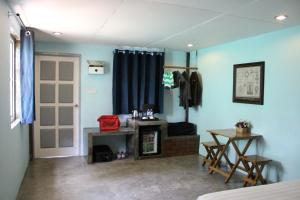 A television and/or entertainment center at Ocean Front Campgrounds