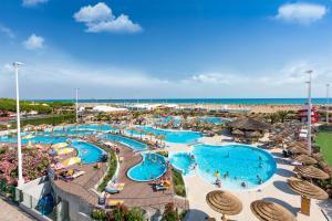 A view of the pool at Villaggio Turistico Internazionale or nearby