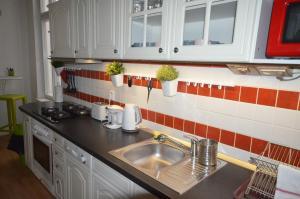 Küche/Küchenzeile in der Unterkunft Travel&Joy backpackers