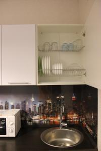 Ванная комната в Apartment Panorama