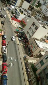 Uma visão geral de Salvador ou uma vista da cidade tirada do apartamento