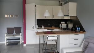Kuchnia lub aneks kuchenny w obiekcie Komfortowy apartament
