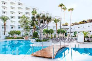 Het zwembad bij of vlak bij Spring Hotel Vulcano