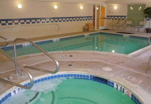 The swimming pool at or near Fairfield Inn & Suites Ukiah Mendocino County