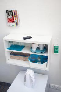 A bathroom at Moja Accommodation