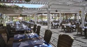 Een restaurant of ander eetgelegenheid bij Jerba Sun Club