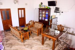 A seating area at Channa Villa & Tours