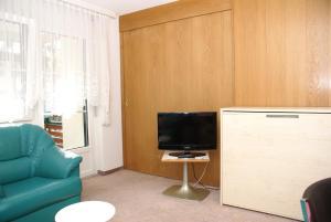 TV/Unterhaltungsangebot in der Unterkunft Appartementhaus La Promenade