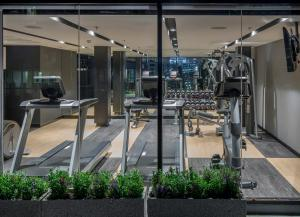 The fitness center and/or fitness facilities at Travelodge Sukhumvit 11