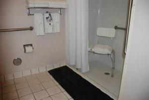 A bathroom at Holiday Inn Express Hotel & Suites Fenton/I-44, an IHG Hotel