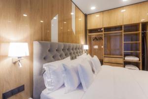 Hotel Platiniaにあるベッド