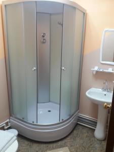 Ванная комната в Гостевой дом Брусника