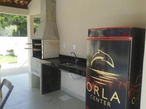 A kitchen or kitchenette at Golden Dolphin Duplex