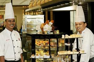 Staff members at The Jerai Hotel Alor Star