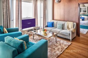 Гостиная зона в Dream Inn Apartments - Burj Residences