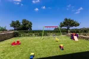Children's play area at Villa Victoria