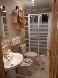 Un baño de Apartment Svetlana