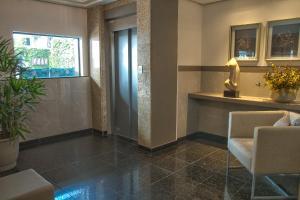 A bathroom at Hotel Gracher Praia