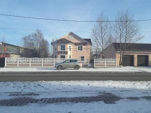 Гостевой дом Брусника зимой