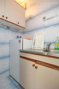 A kitchen or kitchenette at Apartments with a parking space Cavtat, Dubrovnik - 8993