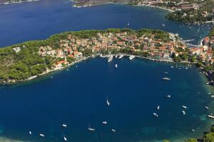 A bird's-eye view of Apartments with a parking space Cavtat, Dubrovnik - 8993