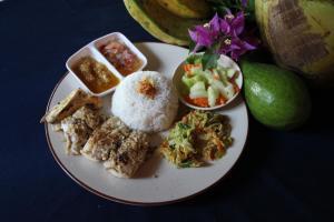 Nourriture dans le lodge ou à proximité