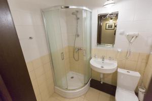 Ванная комната в Гостиница Лесная
