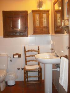 A bathroom at Casa de Oria