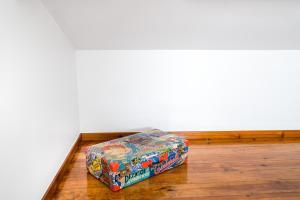 Cama o camas de una habitación en Pateo Santo Estevao-Self Catering Apartments