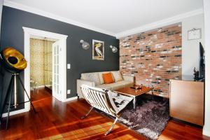 Część wypoczynkowa w obiekcie Livin Premium Apartments