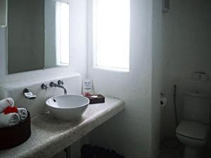 A bathroom at The Boracay Beach Resort
