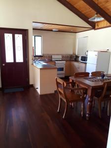 A kitchen or kitchenette at Walpole Wilderness Resort