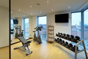The fitness center and/or fitness facilities at Eurostars Grand Central