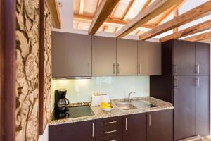 A kitchen or kitchenette at Quinta da Alquimia