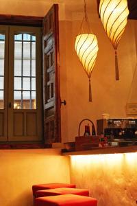 Küche/Küchenzeile in der Unterkunft Hotel Boutique Corral del Rey