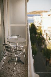 A balcony or terrace at Du Lac