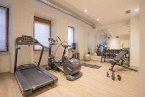 The fitness center and/or fitness facilities at Palazzo Monga Boutique Hotel