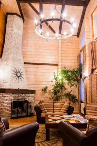 The lobby or reception area at Park Hotel Tseleyevo