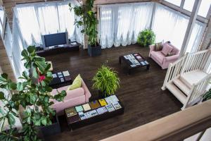 A seating area at Park Hotel Tseleyevo