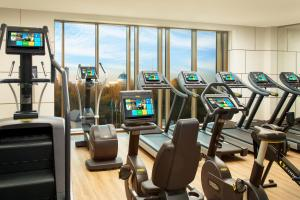 The fitness center and/or fitness facilities at The St. Regis Astana