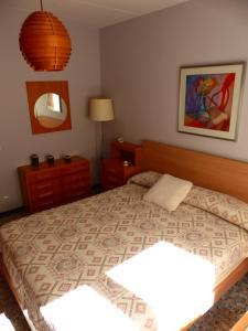 Cama o camas de una habitación en Ca la tieta