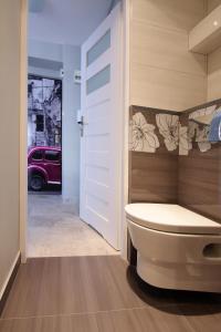 Łazienka w obiekcie Apartament Świętokrzyska