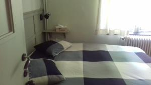 A bed or beds in a room at Repos du Lincon