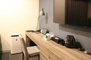 A television and/or entertainment center at Best Western Sapporo Odori-Koen